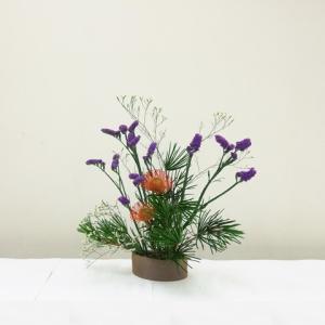 生徒さん 一応お盆の花です