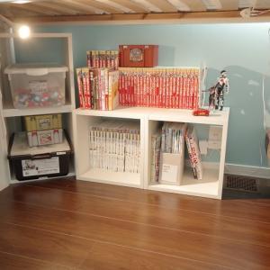 本棚プラスで子供部屋に快適おこもりスペースを。