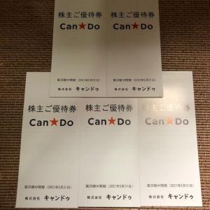 キャンドウの優待が到着 全部で1万円分 何を買いましょうか!