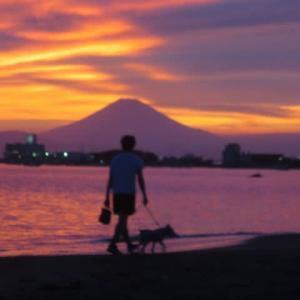 再び 空と富士山に圧倒された今日