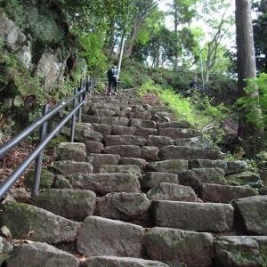 丹沢大山の登山②:大山阿夫利神社下社まで