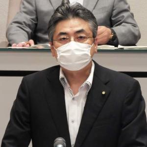 大木市長から平田議員に感謝の意\(^o^)/