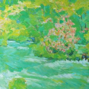 絵画販売の北の旅アート「風景」