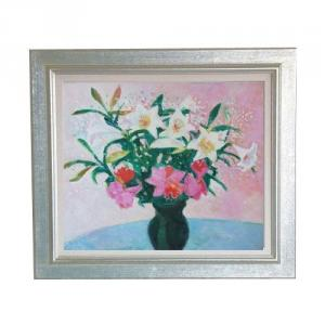 絵画販売の北の旅アート「花」