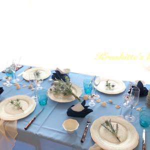 テーブル&フラワーレッスン・上級クラス生徒さんの作品です