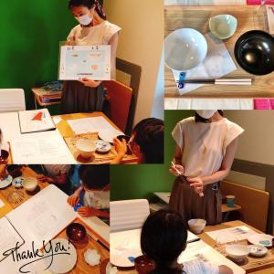 追加開催!10/24(土)『ガラスの箸置き作り&お箸のマナーレッスン』