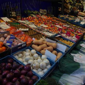 ベルギーの日常。安心する市場。
