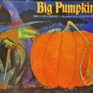 ハロウィン絵本「おおきなかぼちゃ」Big Pumpkin