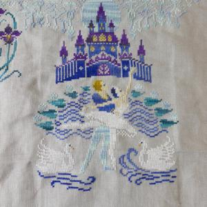 Owl Forest Embroidery - Swan Lake 05