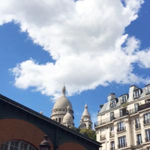 パリは夏空