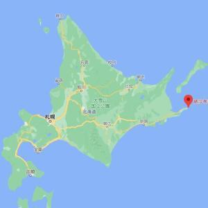 納沙布岬まで行ってきました。11月の話なんですけどね。。(^-^;