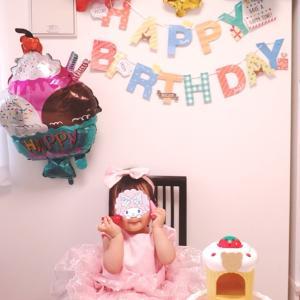 1歳の記念にパシャリ☆