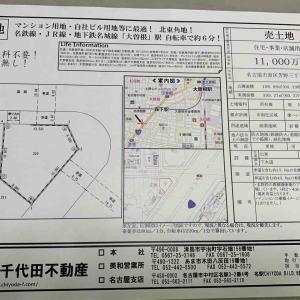 2247)突然のドタキャン(名古屋 土地)