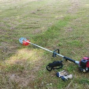 ホンダの草刈り機 シェイクダウン