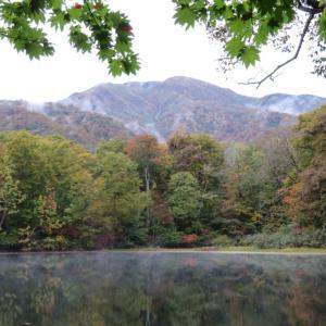 2020-10-17 刈込池の紅葉を見に行きました