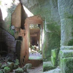 ラピュタ感溢れる石切場跡を散策
