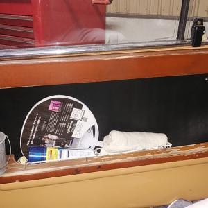 ローバーミニ DIYレストア 傷んだウッドパネルを再生する