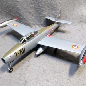 エレール 1/72 F-84G サンダージェット フランス空軍