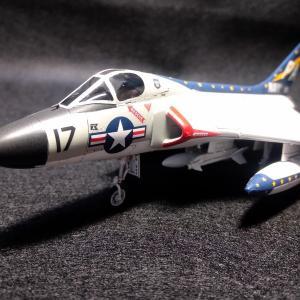 タミヤ 1/72 ダグラス F4D-1 スカイレイ VF(AW)-3 海軍第3全天候飛行隊