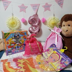 3歳のお誕生日♡