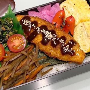 【お弁当】日々のお弁当/bento/海苔弁《旦那弁当》