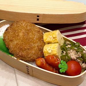 【お弁当】お弁当作り/bento/夫リクエストの簡単なやつ《アラフィフ旦那弁当》