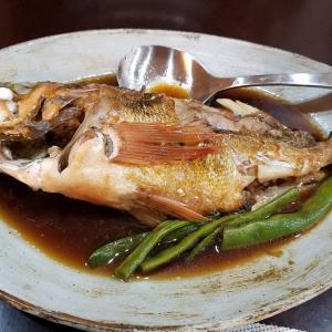 煮魚で晩ごはん