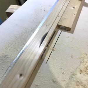 【ガレージ内装DIY-Part31】簡易版テーブルソーの自作からフレンチクリート制作まで【イナバ物置・自作】