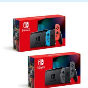 【抽選受付中】アキバソフマップ:Nintendo Switch 本体 ネオン&グレー