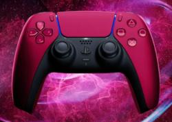 【5月14日予約開始】PS5 DualSense ワイヤレスコントローラー ミッドナイト ブラック & コズミック レッド:2021年6月10日発売