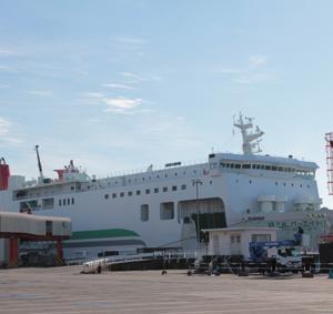 苫小牧-八戸フェリー航路(川崎近海汽船)使ってみました