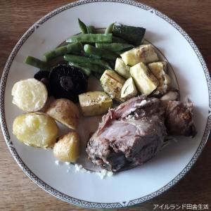 初めて食べる、山羊の肉