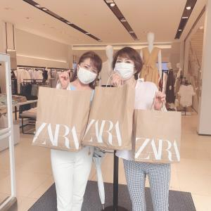 ZARAへ〜ショッピング同行❗️