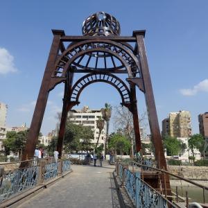 モナステルリ橋から眺めるナイル