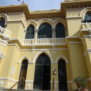 図書館はプリンセス サメーハ・フセイン・カーメルの元宮殿