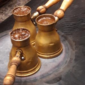 久しぶりに味わうヘーゼルナッツのコーヒー