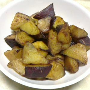 安納芋を焼き芋用に保存