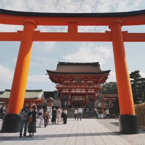 京都の伏見稲荷から長崎へ!