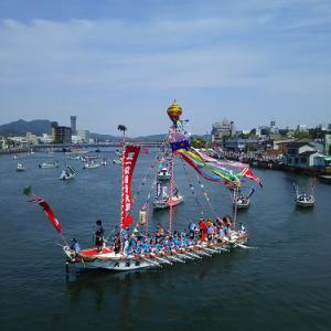 日本三船神事『ホーランエンヤ 還御祭』