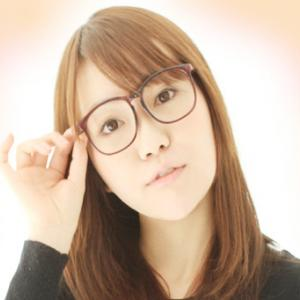 眼鏡をかけている方のエクステ☆