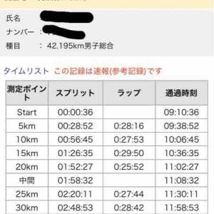 【ご報告】つくばマラソン