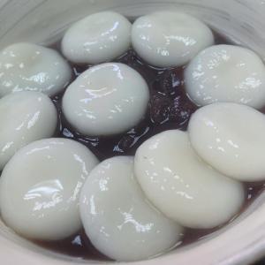 【初音茶屋(はつねちゃや)】《浅草/昼》白玉ぜんざい+白玉トッピング