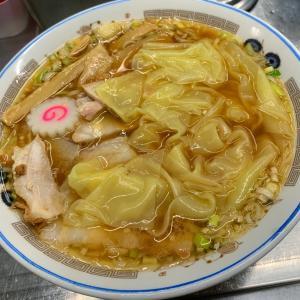 【中華そば みたか】《三鷹/夜》チャーシューワンタン麺