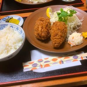 【割烹三友】《人形町/昼》爆弾カキフライ定食