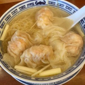 香港海老雲呑麺!【南粤美食(ナンエツビショク)】《横浜・元町中華街》