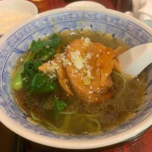 大煮豚がのった麺ランチ【龍口酒家 本店】《幡ヶ谷/昼》