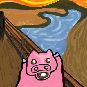 豚を道連れに