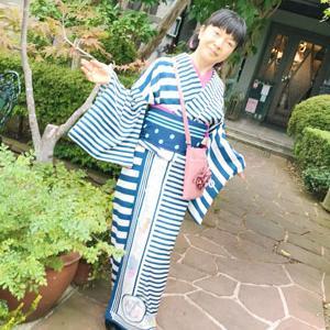 【着物でお出掛け】地元静岡にも自由な発想で着物を楽しむ女子がいる♪