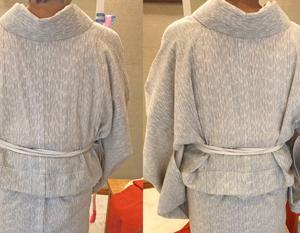 【着物コラム】背中のシワを取るのは「〇〇から〇〇まで」ですよ