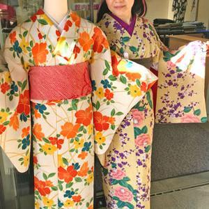 【着物スタイル】三島今昔着物展は梅づくしコーデ♪